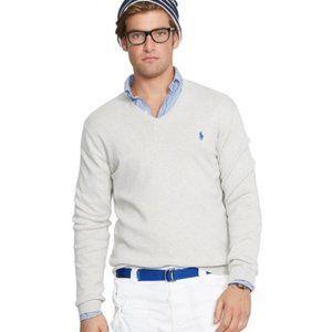 Men's Polo Ralph Lauren Pima Cotton Cream Sweater